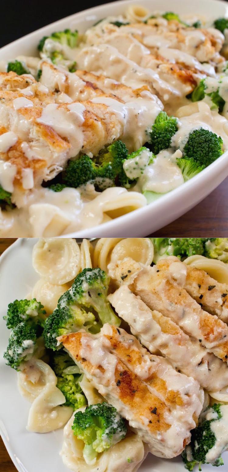 Easy Chicken And Broccoli Recipes  Chicken and Broccoli Pasta