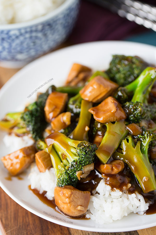 Easy Chicken And Broccoli Recipes  Easy 20 Minute Teriyaki Chicken and Broccoli Quick