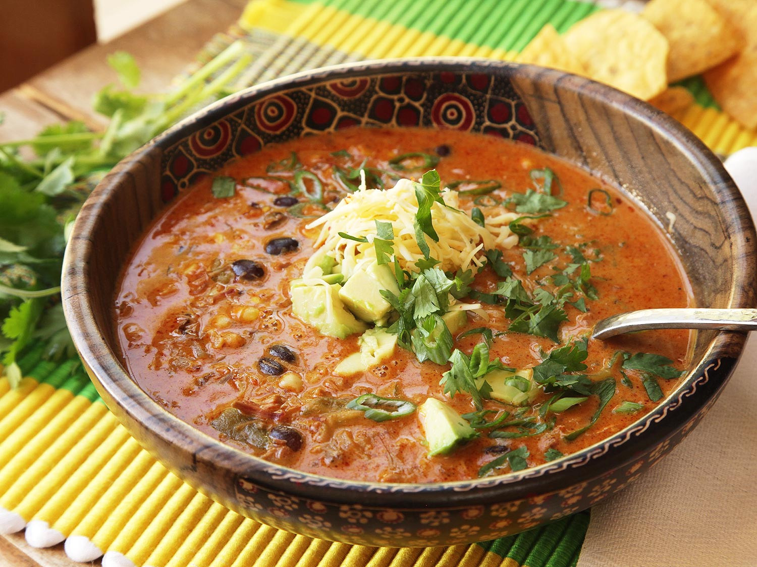 Easy Chicken Enchilada Soup  How to Make Easy Creamy Chicken Enchilada Soup