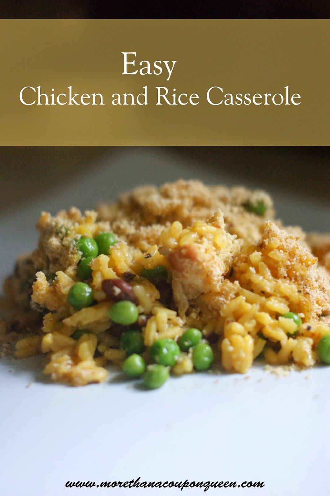 Easy Chicken Rice Casserole  Easy Chicken & Rice Casserole More Than A Homeschool Mom