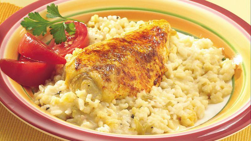 Easy Chicken Rice Casserole  Easy Chicken with Rice Casserole Recipe Pillsbury