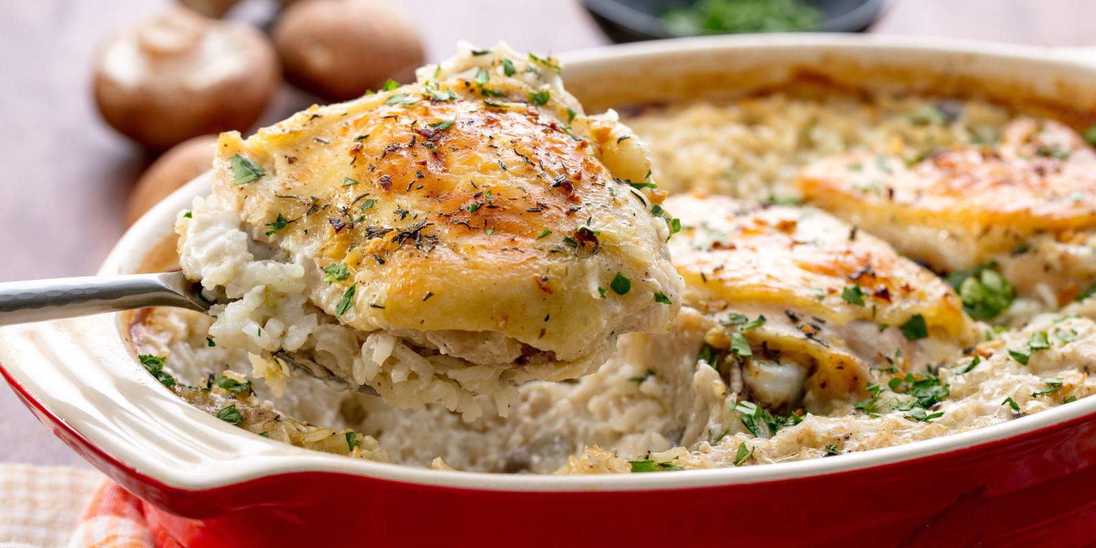 Easy Chicken Rice Casserole  Easy Chicken and Rice Casserole Recipe How to Make Baked