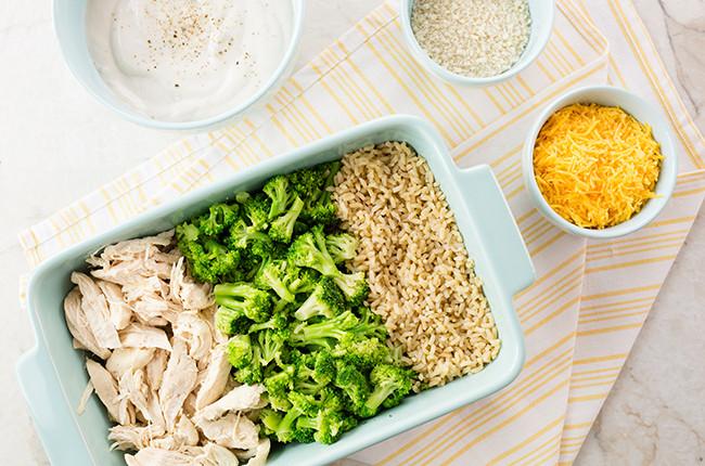 Easy Chicken Rice Casserole  Recipe Easy Chicken and Rice Casserole