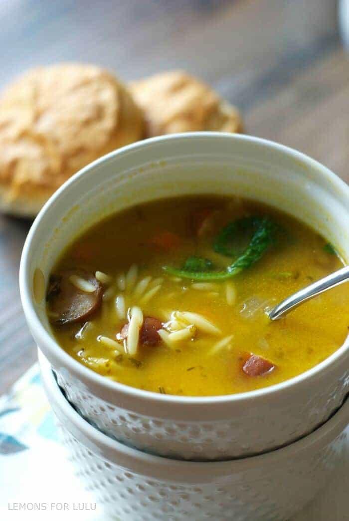 Easy Chicken Soup  Easy Chicken Soup Recipe LemonsforLulu