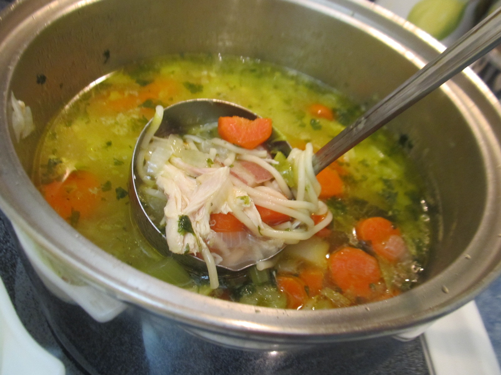 Easy Chicken Soup  Easy Chicken Noodle Soup