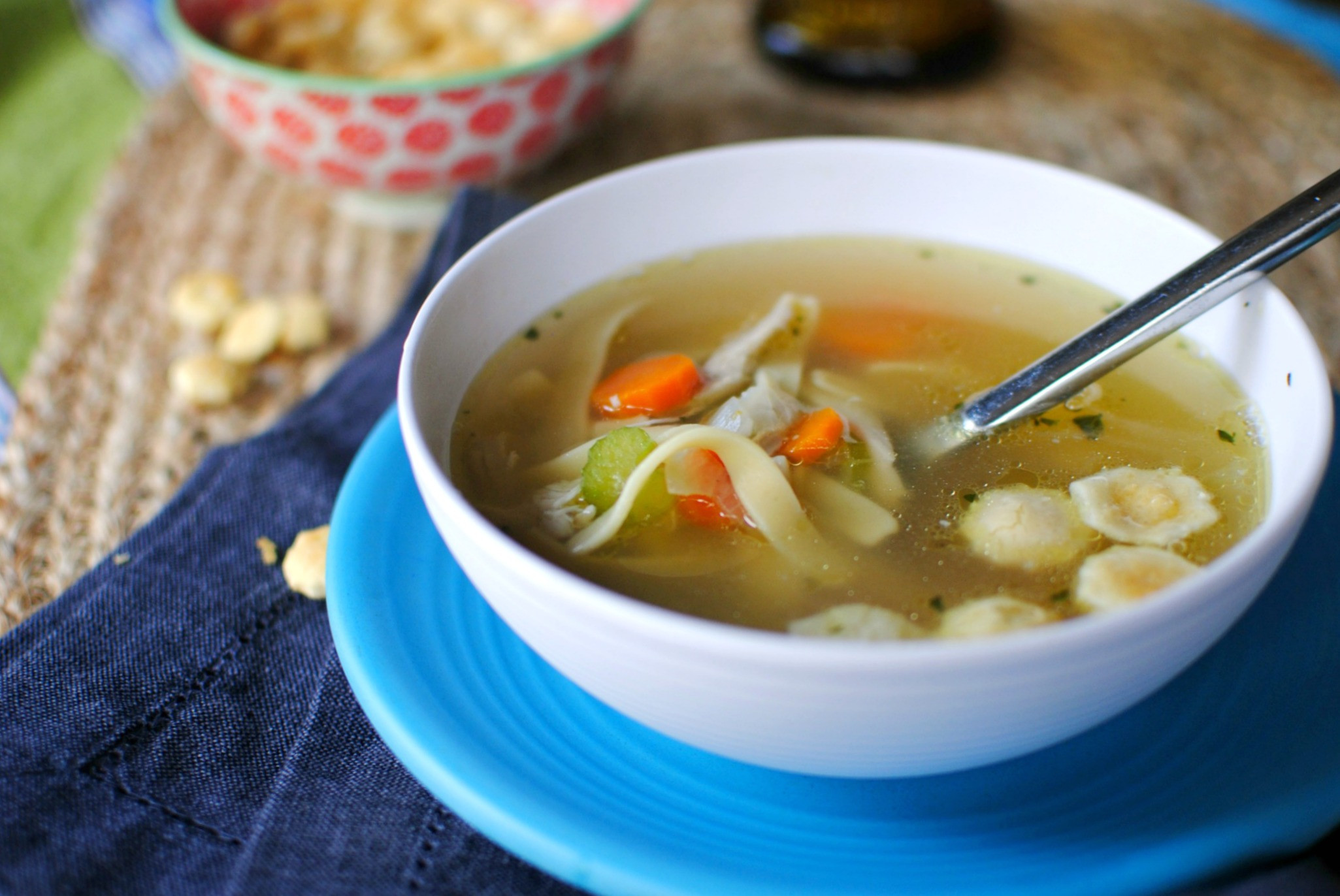 Easy Chicken Soup  Simply Scratch Easy Homemade Chicken Noodle Soup Simply