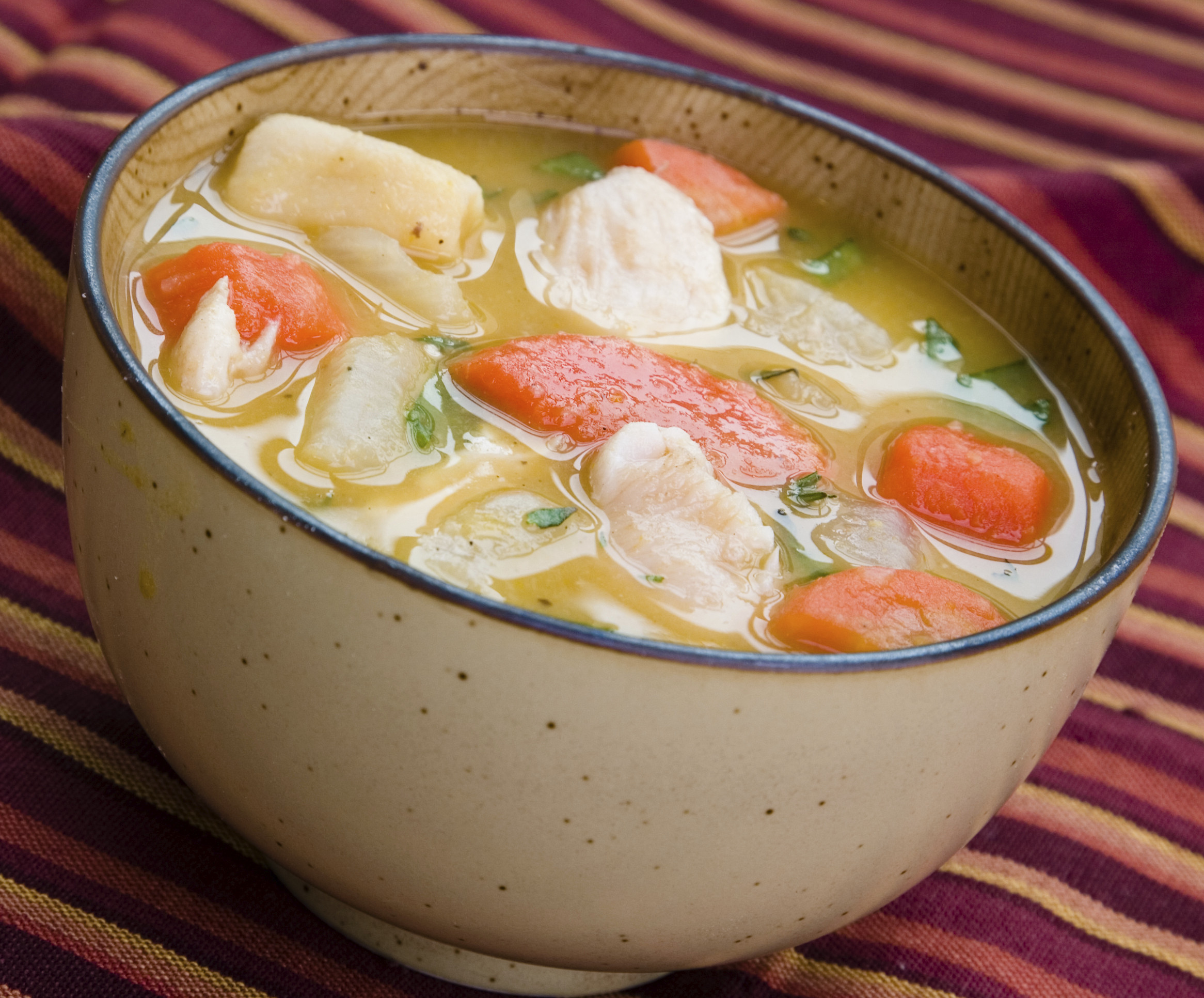 Easy Chicken Soup  Easy Chicken Ve able Soup