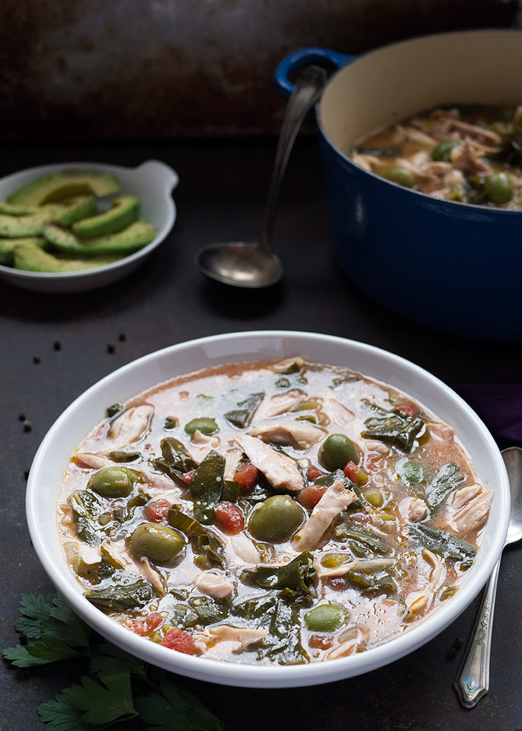 Easy Chicken Soup  Homemade Chicken Soup Whole30 Mid Life Croissant