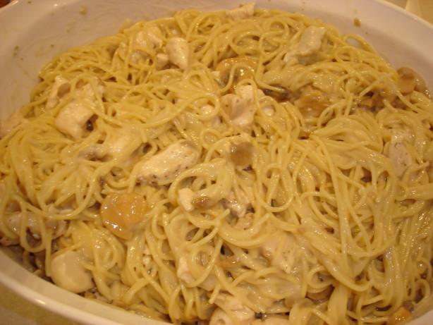 Easy Chicken Spaghetti  Easy Chicken Spaghetti Recipe Food