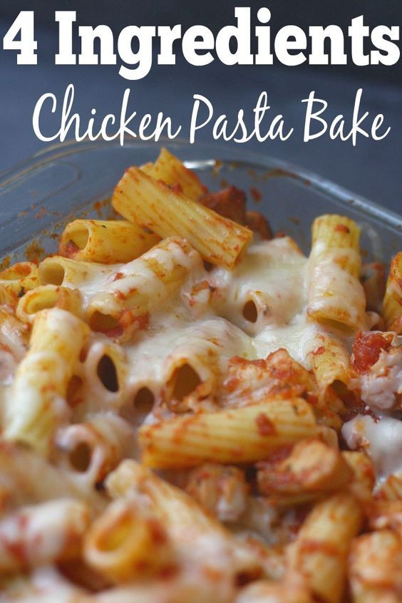 Easy Chicken Spaghetti Casserole  Pinterest • The world's catalog of ideas