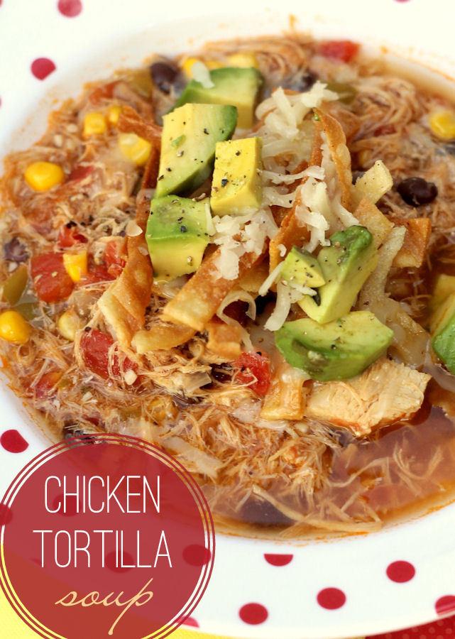 Easy Chicken Tortilla Soup Recipe  Chicken Tortilla Soup Recipe