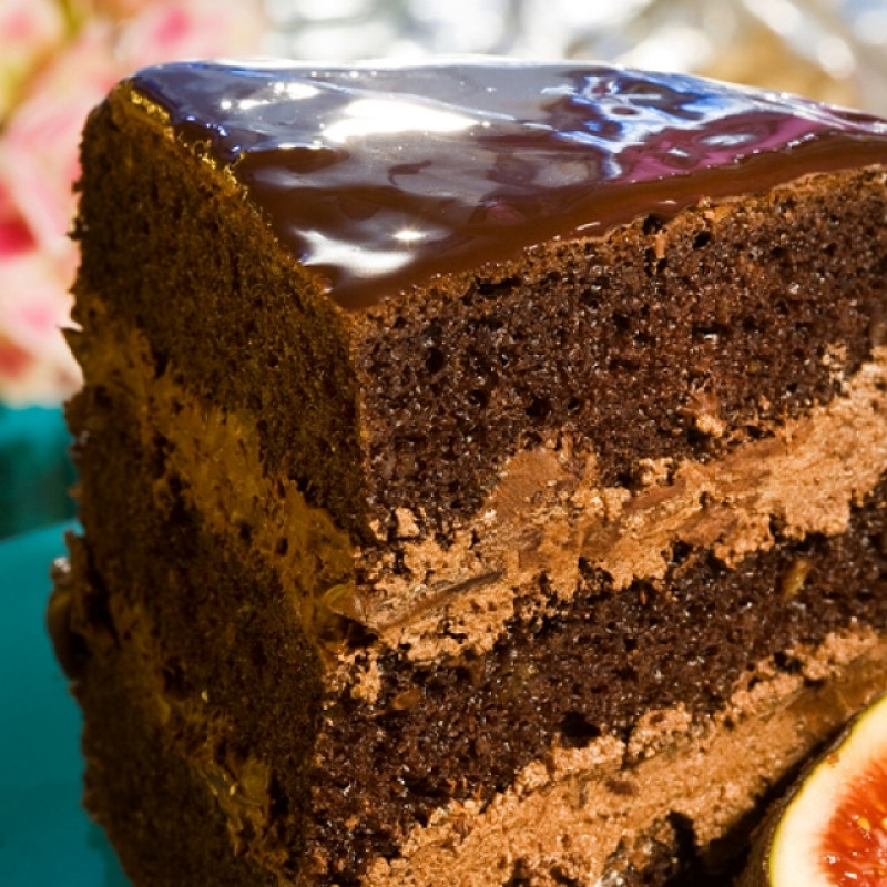 Easy Chocolate Cake Recipes  Easy Chocolate Mousse Cake Recipe