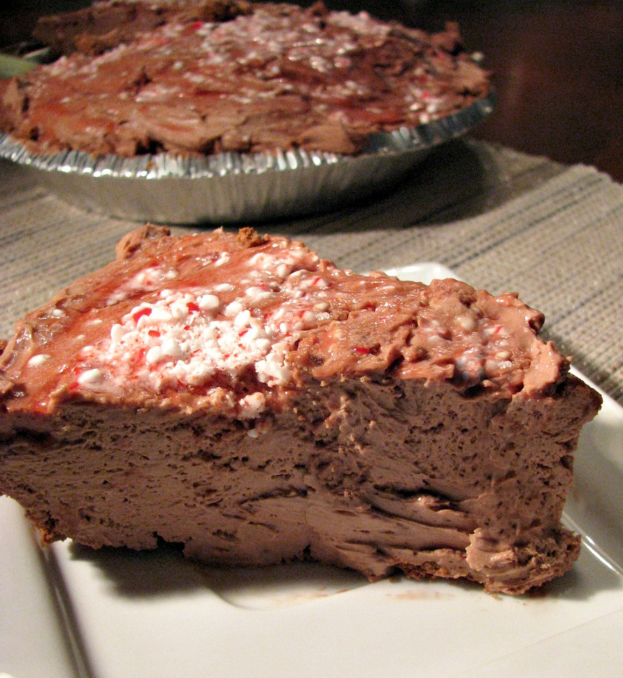 Easy Chocolate Cheesecake Recipe  No Bake Chocolate Peppermint Cheesecake Rants From My