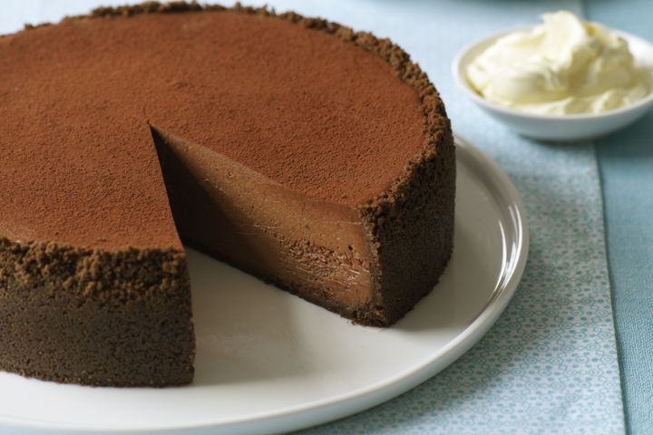 Easy Chocolate Cheesecake Recipe  Chocolate cheesecake