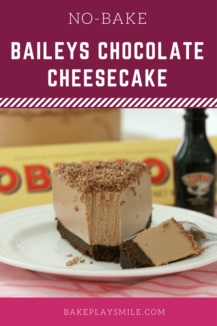 Easy Chocolate Cheesecake Recipe  easy baileys chocolate cheesecake recipe
