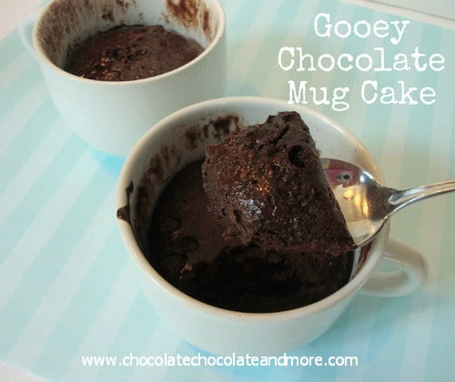 Easy Chocolate Mug Cake  Gooey Chocolate Mug Cake 3 Ingre nts Chocolate