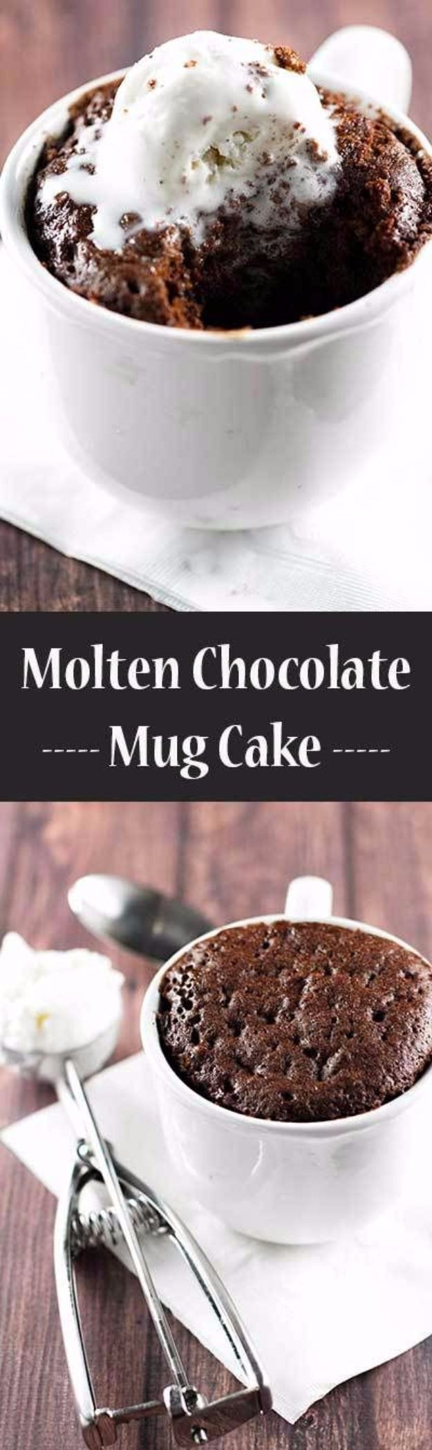 Easy Chocolate Mug Cake  43 Easy Snacks You Can Make in Less Than 5 Minutes DIY Joy