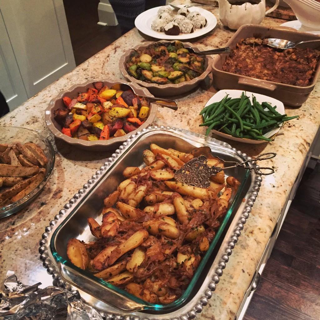 Easy Christmas Dinner  Vegan Gravy