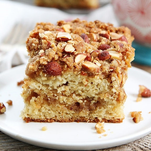Easy Coffee Cake  Slow Cooker Easy Almond Coffee Cake Recipe Magic Skillet