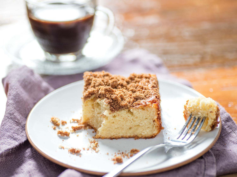 Easy Coffee Cake  Easy e Bowl Coffee Cake Recipe