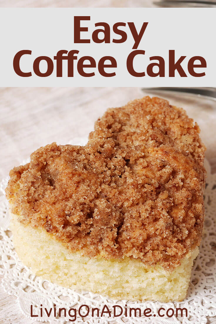 Easy Coffee Cake  Easy Coffee Cake Recipe Top The Morning Coffee Cake