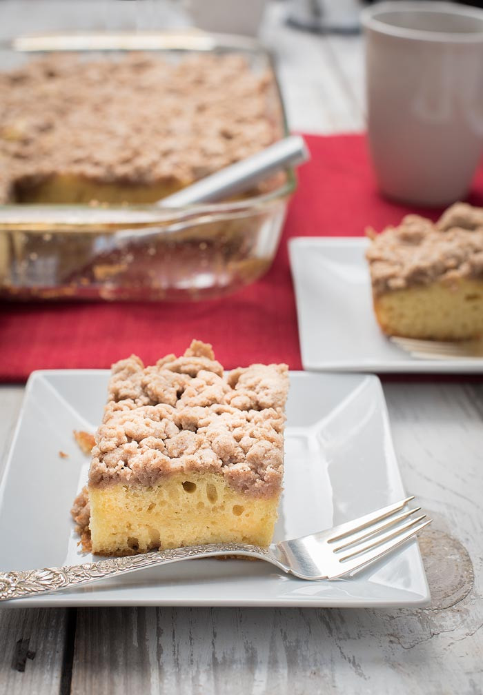 Easy Coffee Cake  Easy Coffee Cake Recipe Easy Tasty and Freezable