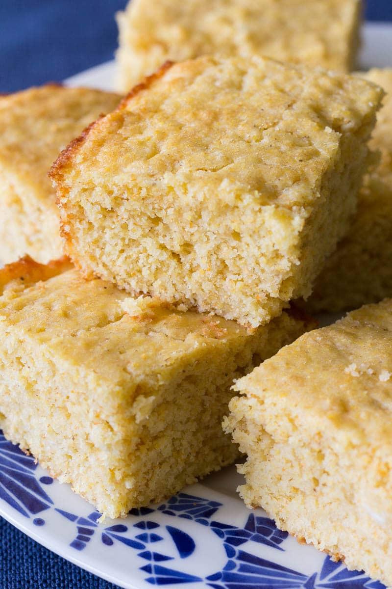 Easy Corn Bread  Moist Cornbread Recipe Made From Scratch