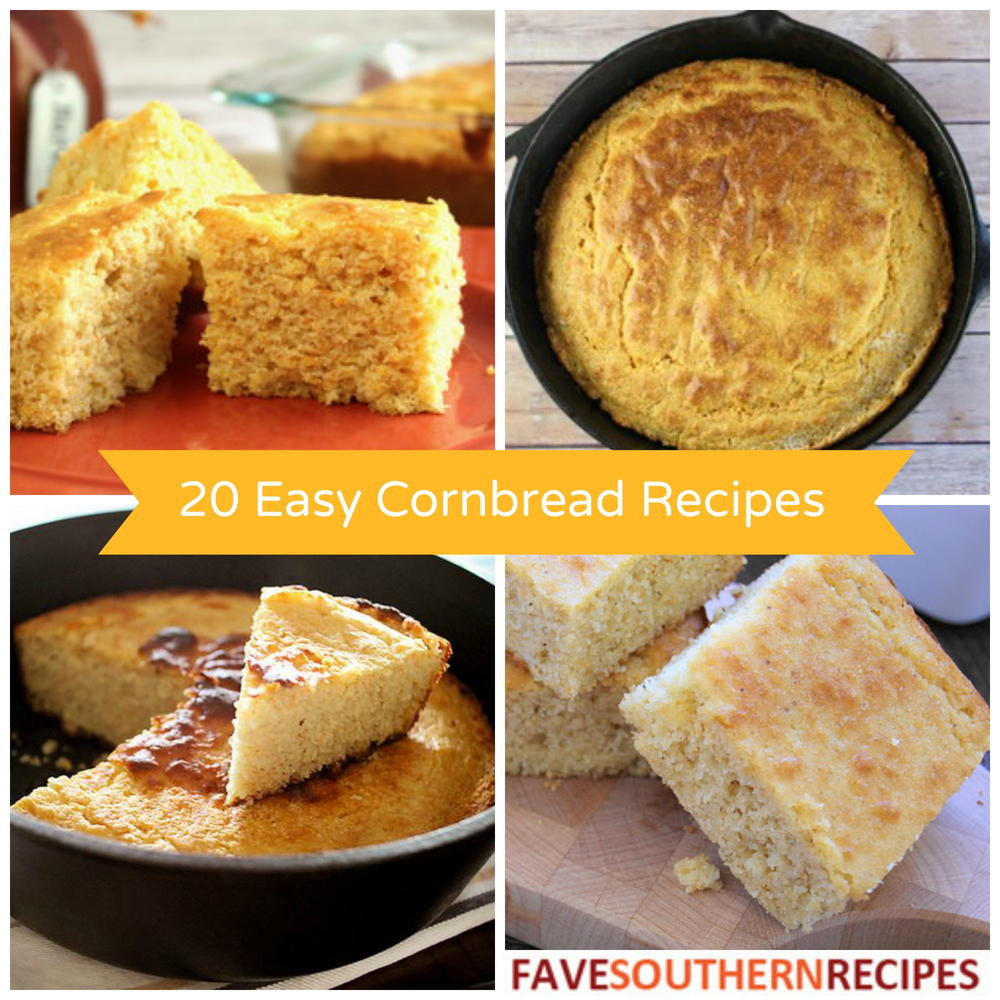 Easy Corn Bread  20 Easy Cornbread Recipes The Best Southern Cooking