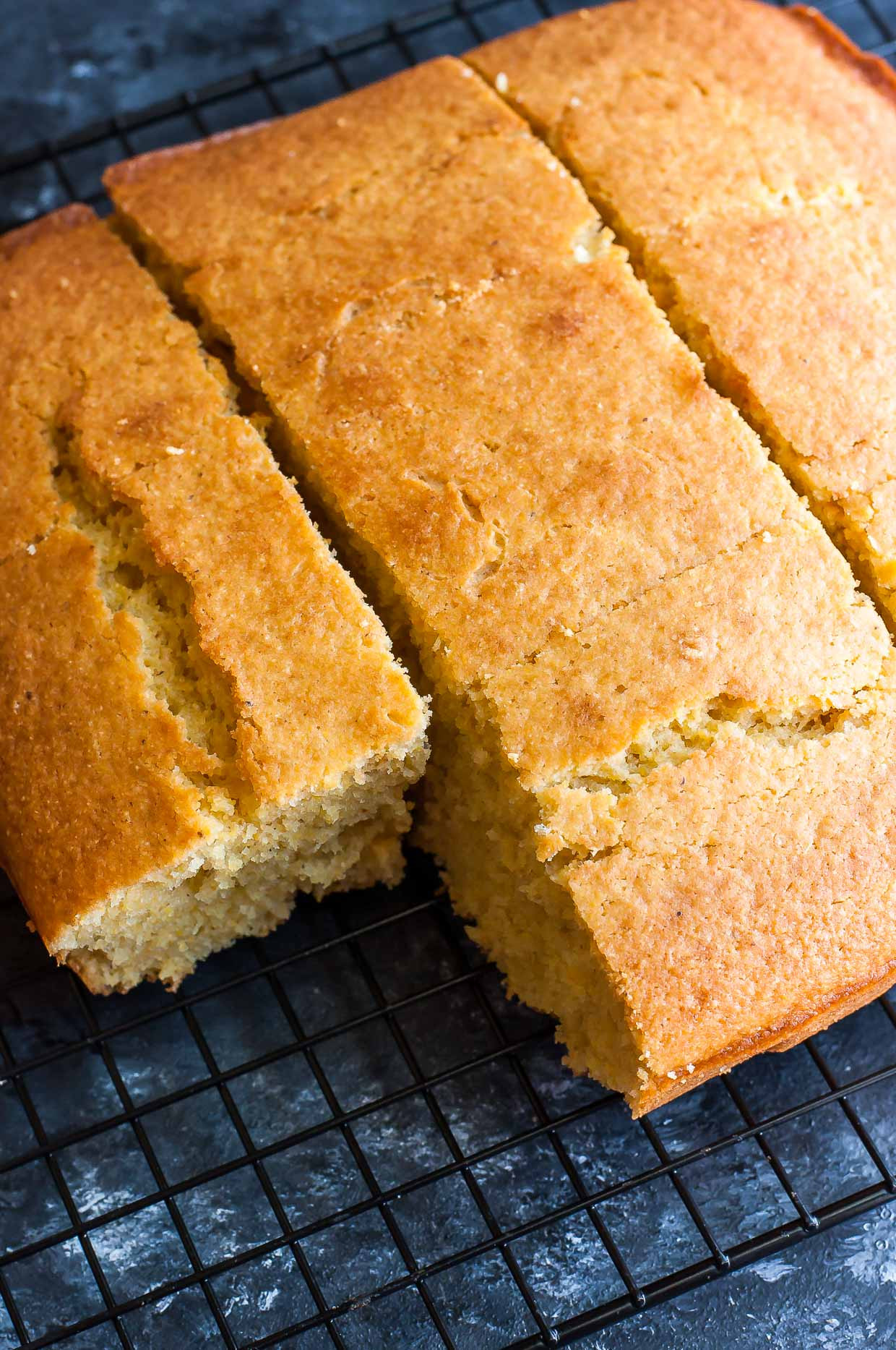 Easy Corn Bread  Easy Homemade Cornbread Recipe Peas and Crayons