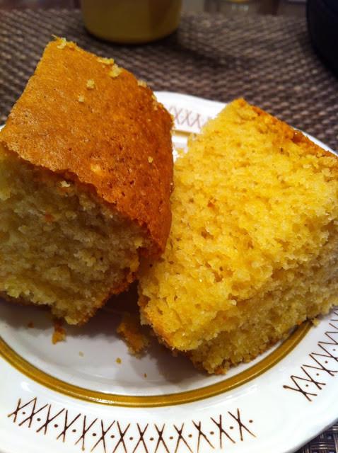 Easy Corn Bread  Nana s Recipe Box Easy Sweet Cornbread