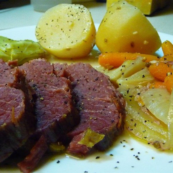 Easy Corned Beef And Cabbage  Easy Corned Beef and Cabbage