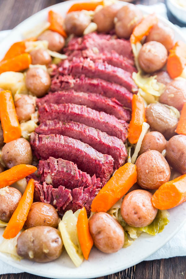 Easy Corned Beef And Cabbage  Easy Corned Beef and Cabbage Instant Pot and Slow Cooker