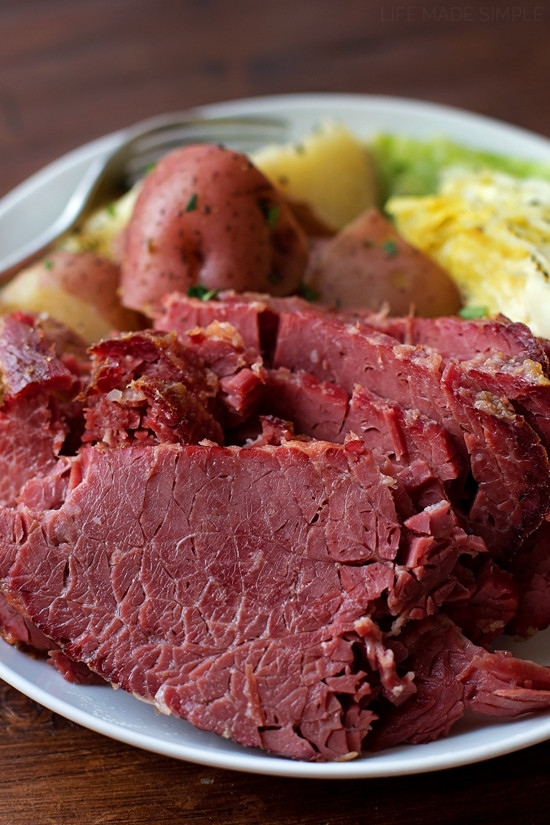 Easy Corned Beef And Cabbage  Corned Beef and Cabbage Life Made Simple