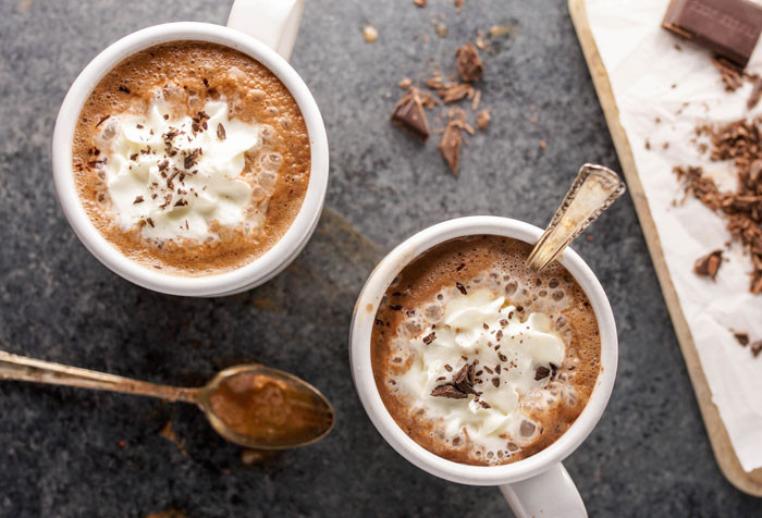 Easy Crockpot Hot Chocolate With Cocoa Powder  hot chocolate recipe cocoa powder no milk
