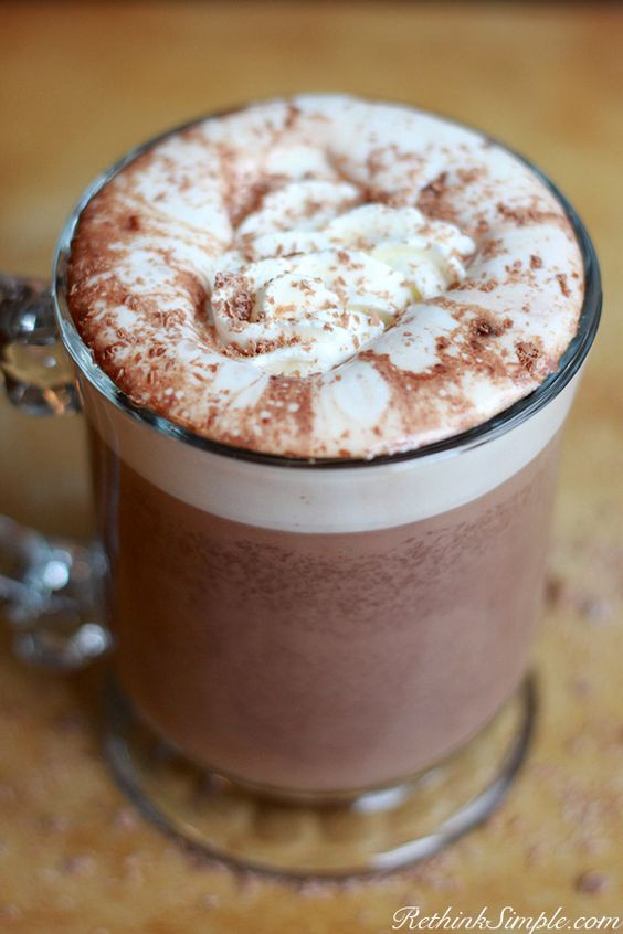 Easy Crockpot Hot Chocolate With Cocoa Powder  The most delicious homemade hot chocolate It s just too