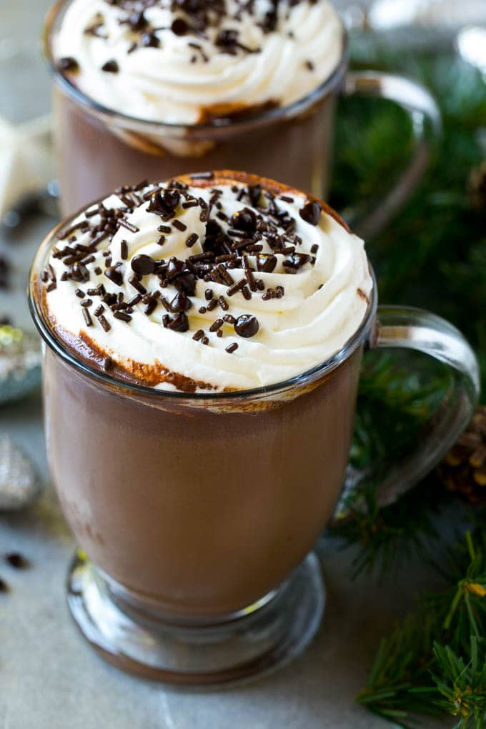 Easy Crockpot Hot Chocolate With Cocoa Powder  Slow Cooker Hot Chocolate Dinner at the Zoo