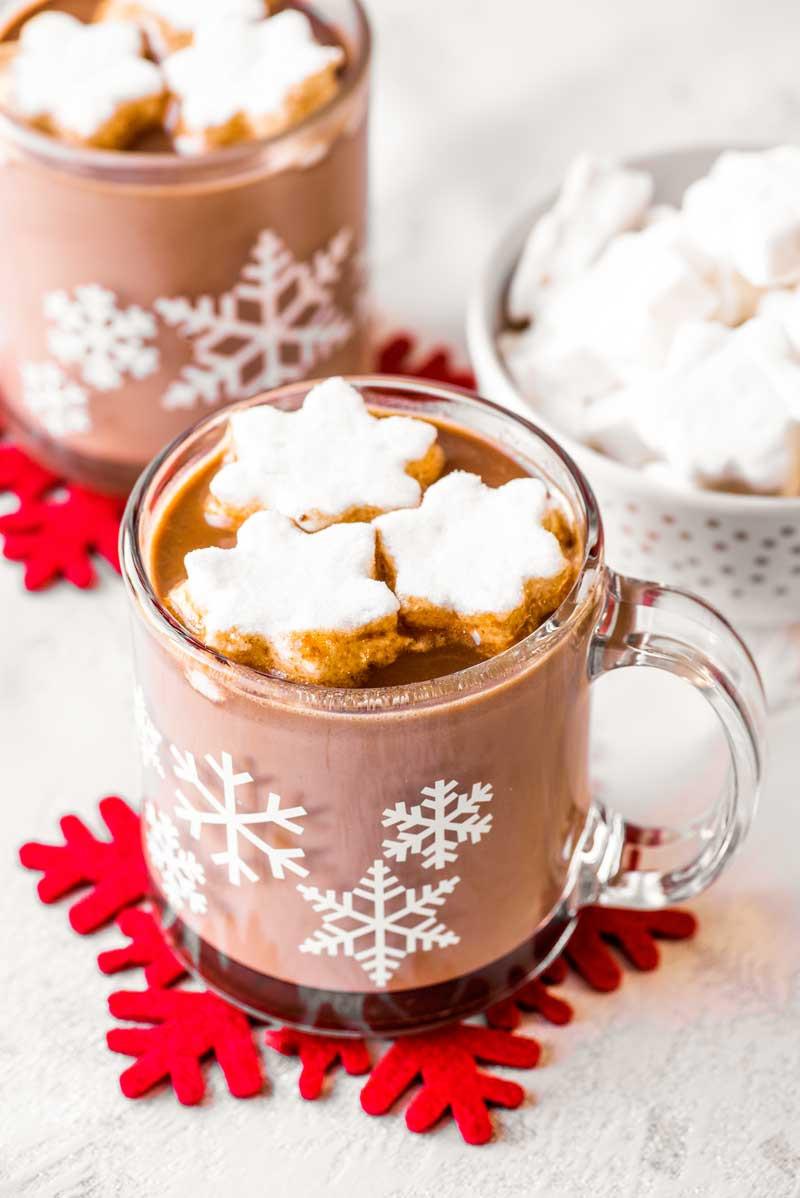 Easy Crockpot Hot Chocolate With Cocoa Powder  Crock Pot Hot Chocolate Homemade Hooplah