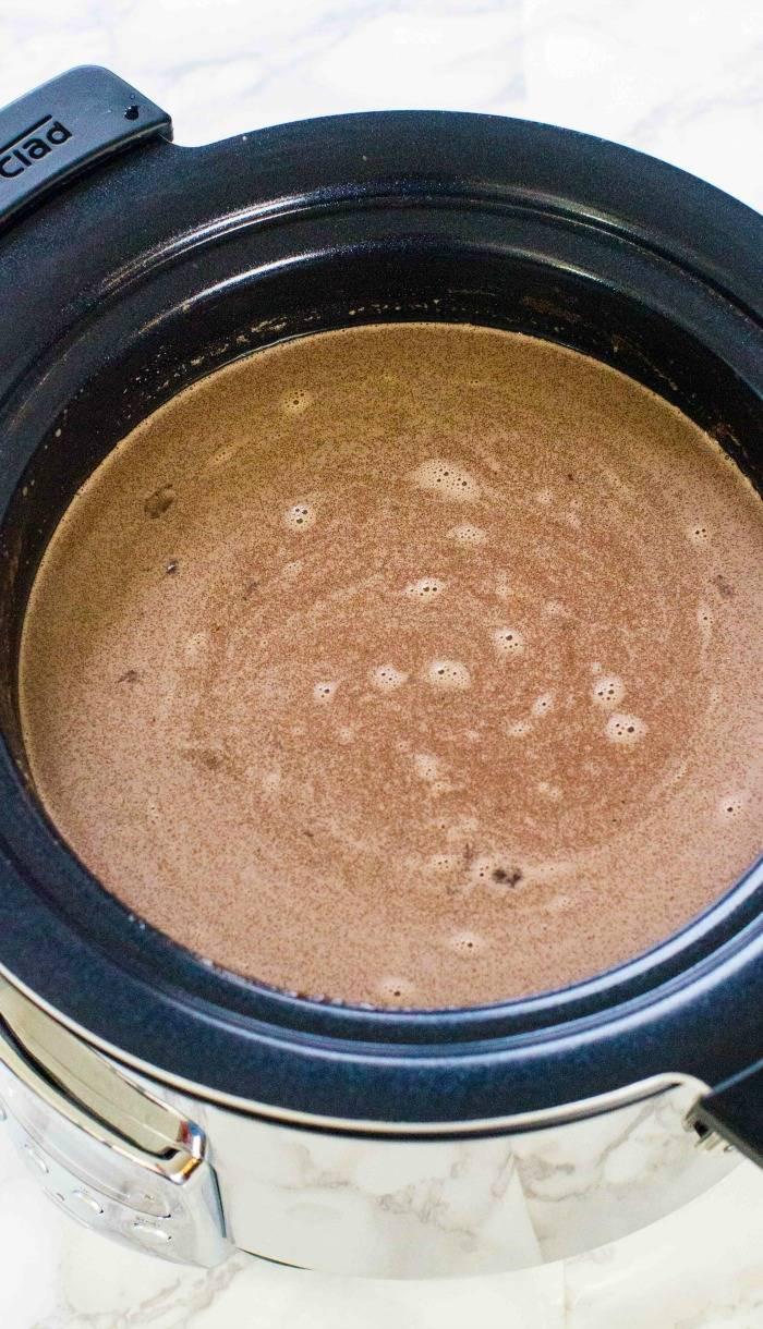 Easy Crockpot Hot Chocolate With Cocoa Powder  Crockpot Hot Chocolate Recipe
