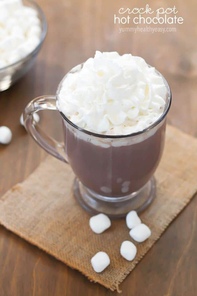 Easy Crockpot Hot Chocolate With Cocoa Powder  25 Hot Chocolate Recipes 365 Days of Baking and More