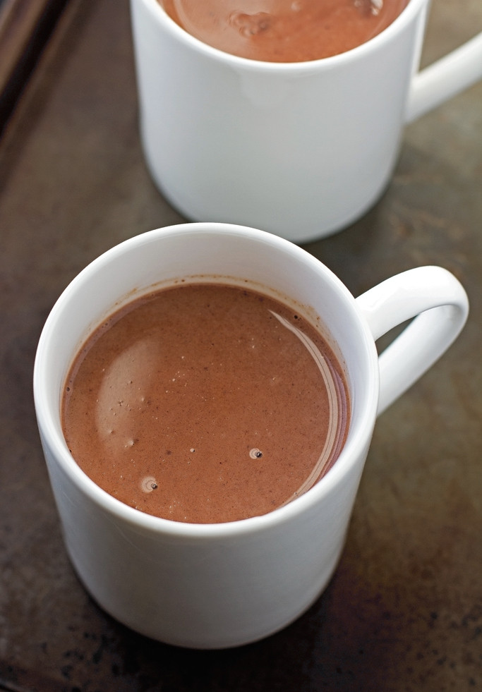 Easy Crockpot Hot Chocolate With Cocoa Powder  Mexican Hot Chocolate Slow Cooker Recipe