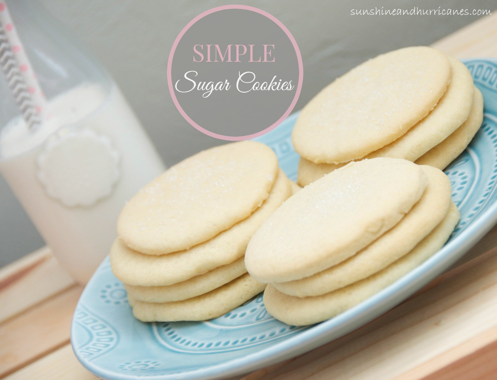 Easy Cut Out Sugar Cookies Recipes  Simple Sugar Cookies