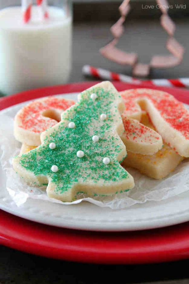 Easy Cut Out Sugar Cookies Recipes  Best Christmas Cookie Recipes