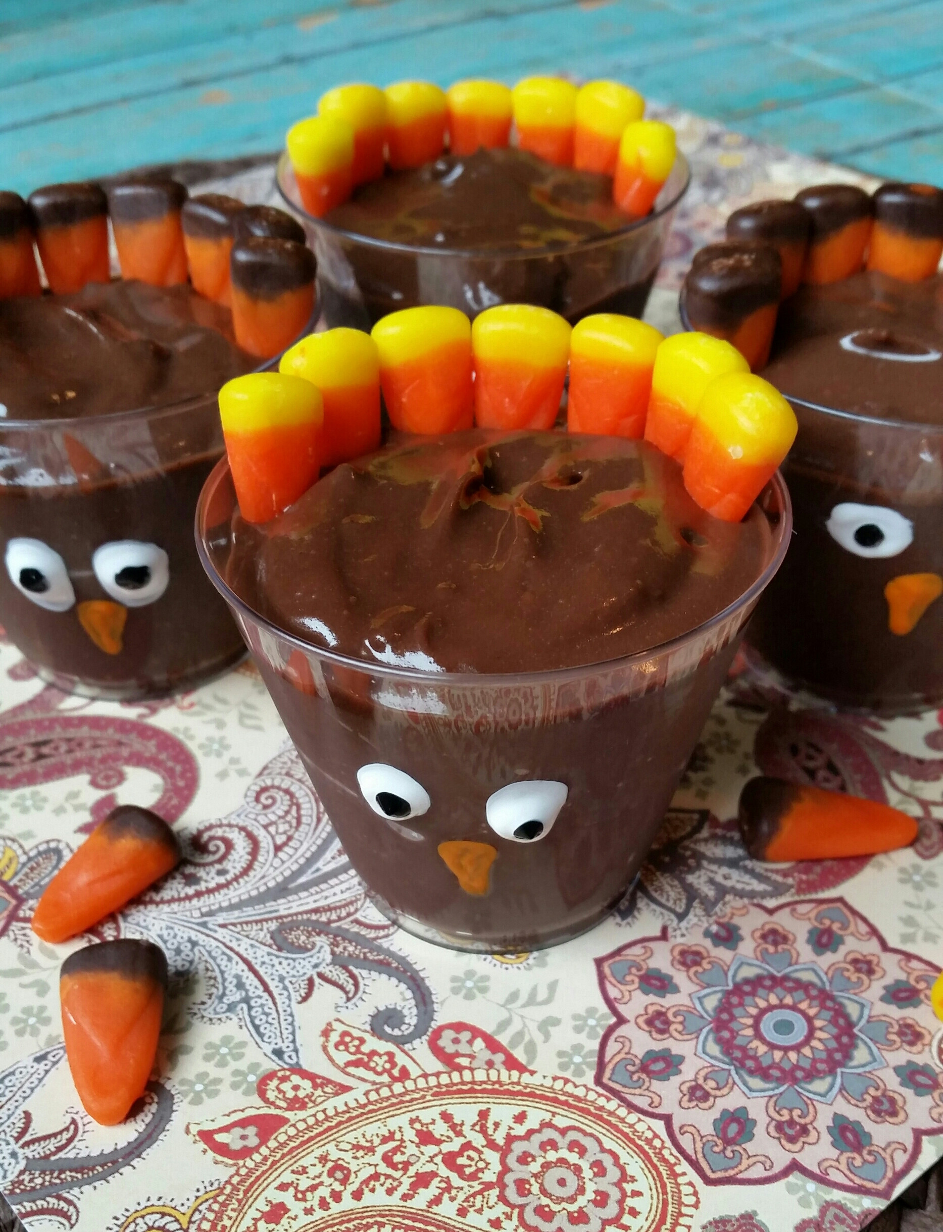 Easy Desserts For Kids  Turkey Dessert Shooters Easy Thanksgiving Recipe Not