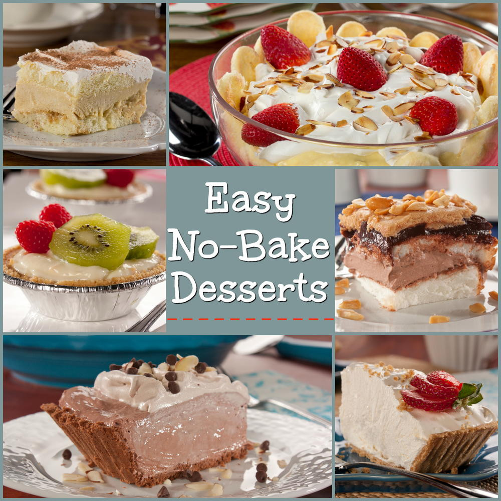 Easy Desserts Recipes  Easy No Bake Desserts