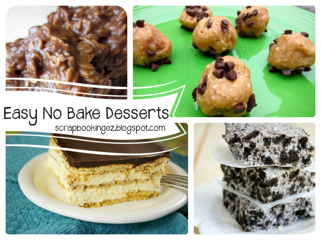 Easy Desserts To Bake  Digital Scrapbooking Made Easy Top Five Tuesdays Easy