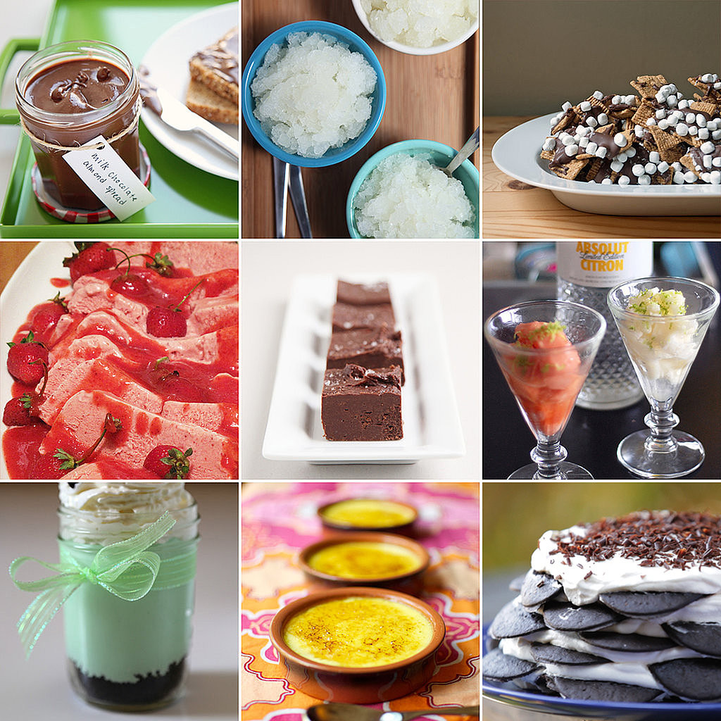 Easy Desserts To Bake  Easy No Bake Dessert Recipes