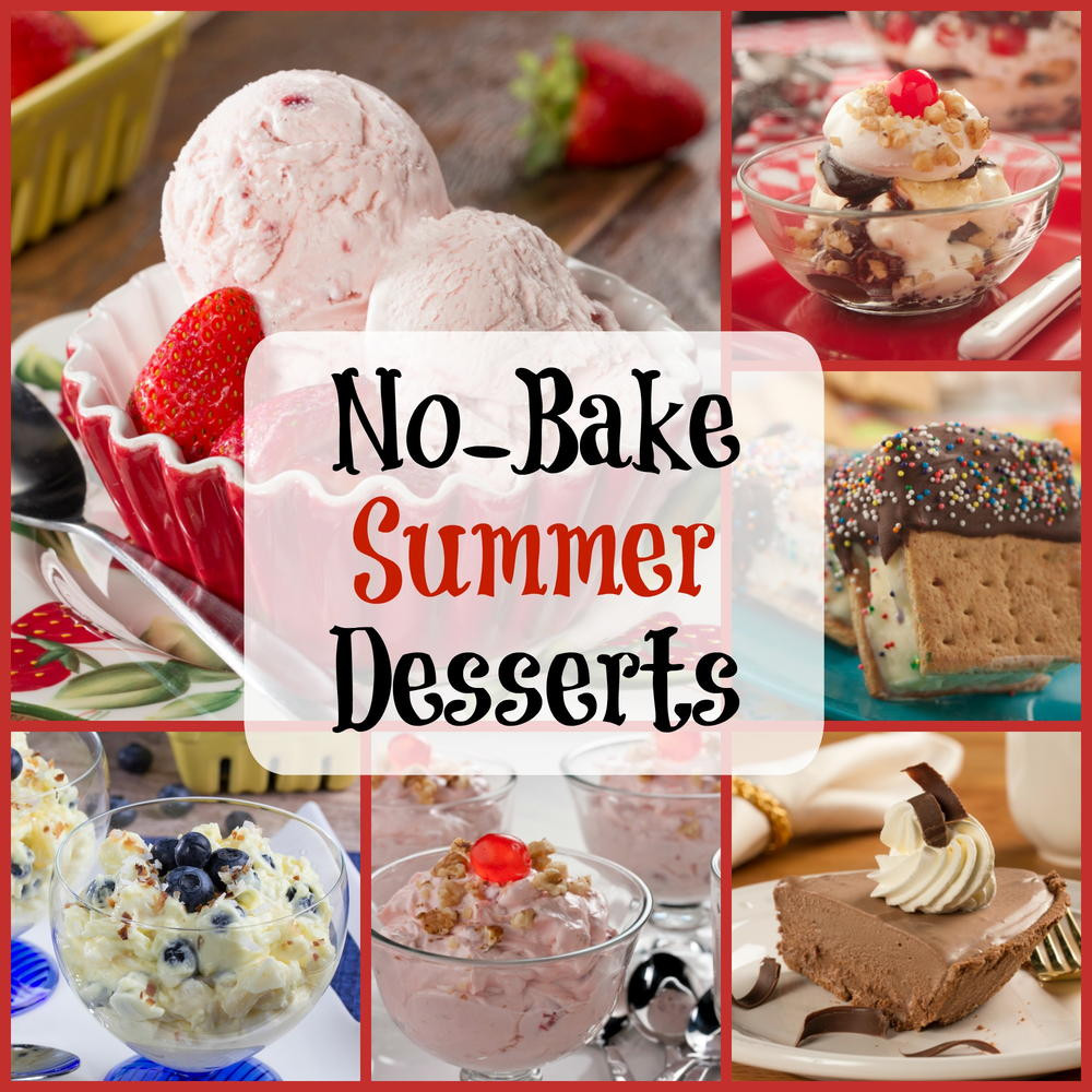 Easy Desserts To Bake  Easy Summer Recipes 6 No Bake Desserts