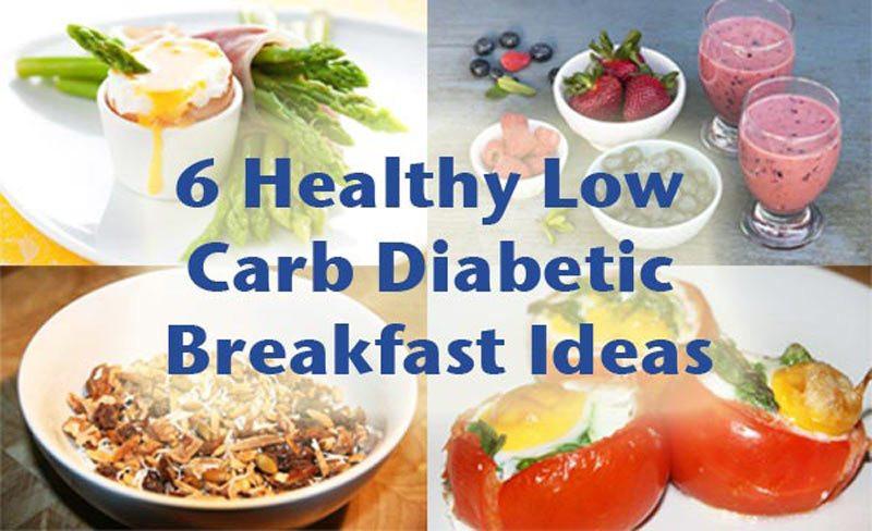 Easy Diabetic Breakfast Recipes  6 Healthy low carb diabetic breakfast ideas