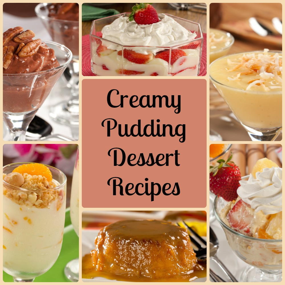 Easy Diabetic Dessert Recipes  Creamy Pudding Dessert Recipes 10 Diabetic Recipes with