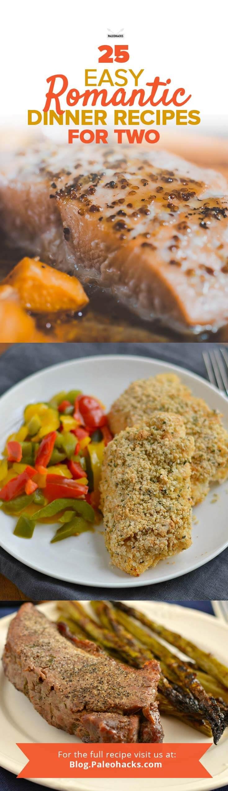 Easy Dinner For Two  25 Easy Romantic Dinner Recipes for Two
